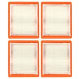 Milttor 4 Packs 14 083 16-S XT675 Air Filter Fit Kohler XT650 Courage XT Toro MTD Lawn Boy XT6.5 XT6.75 Engine Lawn Mower 14 083 15-S