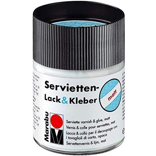 ServiettenLack Kleber matt 500 ml