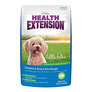 Health Extension Little Bites Dry Dog Food – Chicken and Brown Rice Recipe