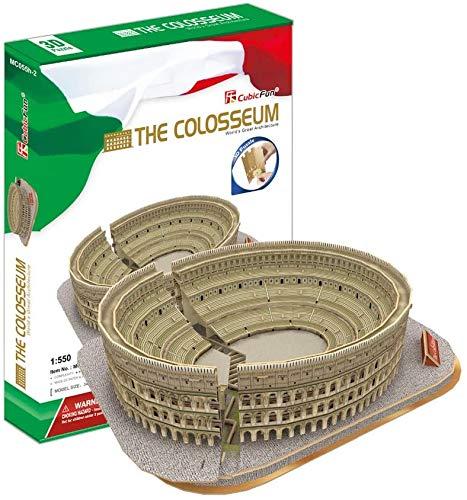 LAL6 3D-gebäude DIY Papiermodell Spiel Von Italien Colosseum Großer Architektur Geburtstags-Geschenk