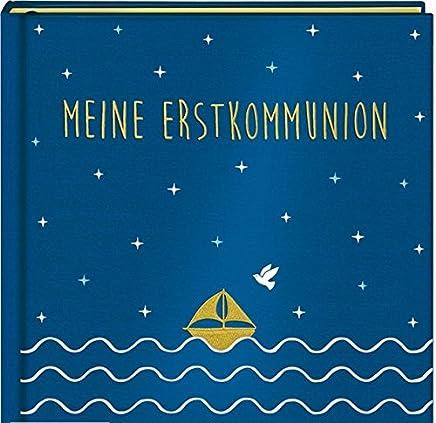 Eintragalbu eine Erstkounion Satin blau by Maren Kelch