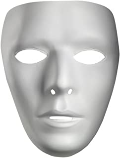 Blank Male Drama Mask Jabberwockies Mask Blank Male Mask 10475