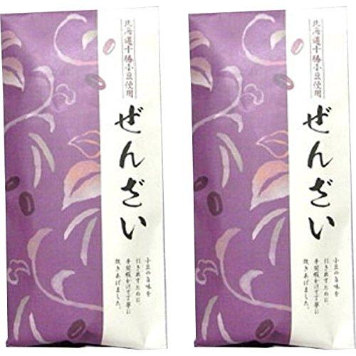 【北海道十勝小豆100%】ぜんざい 国産 180g ×2袋セット 巣鴨のお茶屋さん 山年園