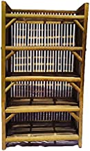 HM Service Bamboo Cane Rack for Books and Shoes
