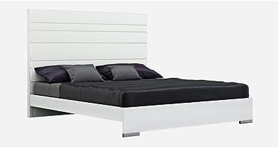 Amazon Com Fujian Modern Platform Bed 2 Night Stands