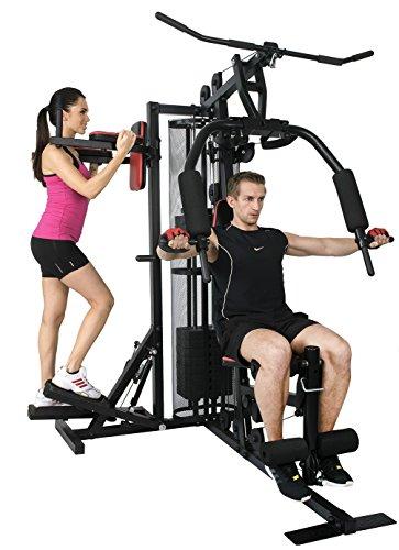 Christopeit Sport Profi Center de Luxe - Kraftstation für Oberkörper, Rücken, Schulter, Arme, Bauch, Beine - Multi-Gym