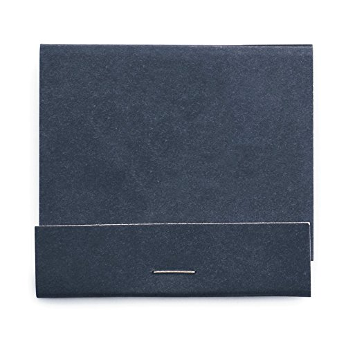 Weddingstar 41092-32 Plain Matchbook Decorative Item, Matte Navy