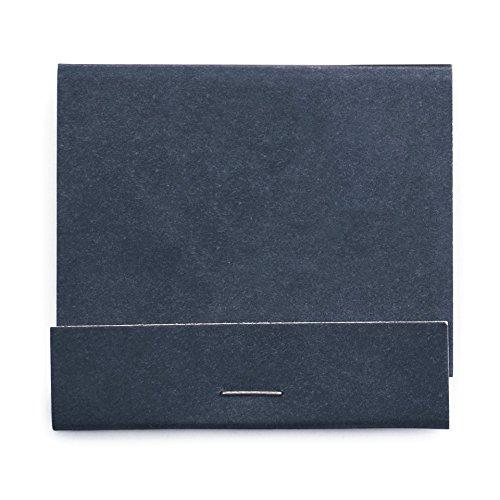 Weddingstar 41092-32 Plain Matchbook Decorative Item, Matte Navy