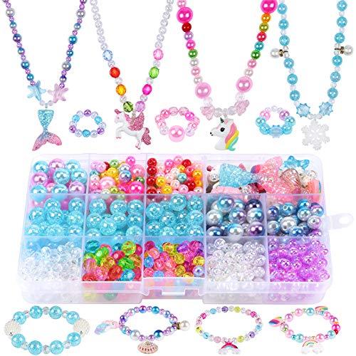 Tacobear Bricolage Perles pour Bracelet Collier Bague Kit...