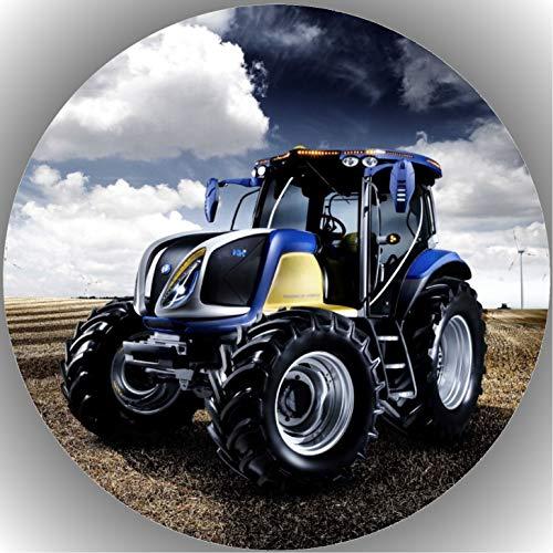 Fondant Tortenaufleger Tortenbild Geburtstag Trecker-Traktor A 12