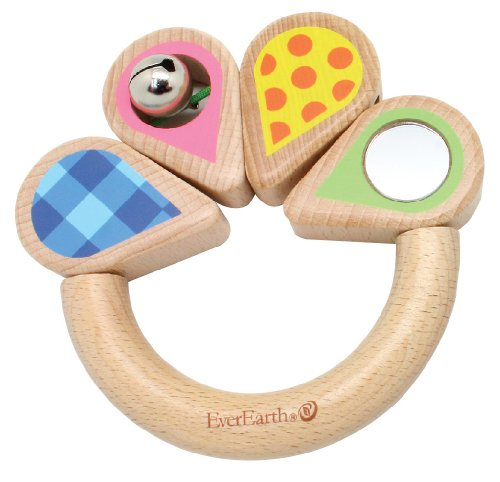 EverEarth Wooden Patterns Grasping Toy EE33589