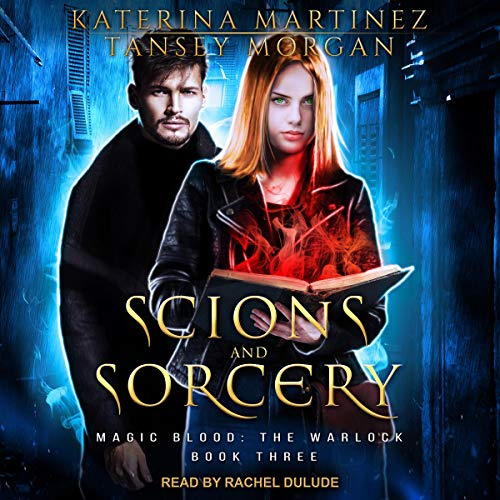 Scions and Sorcery audiobook cover art