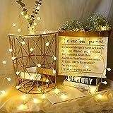 Luces LED de navidad luces de cadena esféricas luces de hadas de fiesta en el interior luces de cadena de decoración del hogar usb 6m60 leds