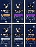 CAFEPOD Craft Coffee Nespresso Compatible Aluminium Pods - UTZ Certified (Variety x 60 Pods)