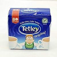 Tetley Tea Original - 80 Bags / 250g (テトレー ティーバッグ 80袋) 【海外直送品】【並行輸入品】