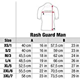 Cressi Herren T-shirt Rash Guard UV Sun Protection (UPF)