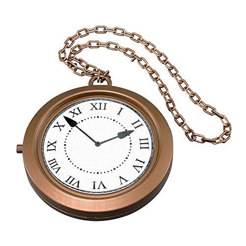 Jumbo Clock Medallion (accesorio de disfraz)