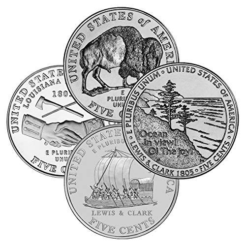 1 P, D Complete 8-coin Set! 2004 & 2005 Westward Journey Uncirculated