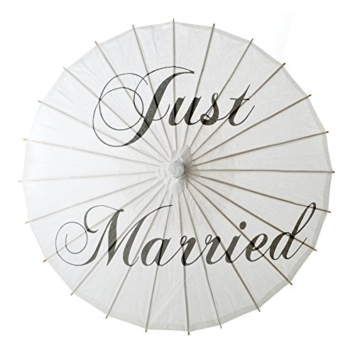 Paper Parasol - Just Married