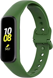 YANGSANJIN Control de Actividad de la Correa, para Samsung Galaxy Fit-e SM-R375 de liberación rápida Pulsera de Silicona Suave Deporte reemplazo de la Correa de Banda de Reloj(Color al Azar