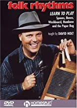 Folk Rhythms-Learn To Play Spoons,Bones,Washboard,Hambone and the Paper Bag
