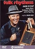 DVD-Folk Rhythms-Learn To Play Spoons,Bones,Washboard,Hambone and the Paper Bag