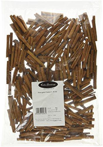 Eder Gewürze - Zimt ganz Cassia 8 - 10 cm - 1 kg Gewürze, 1er Pack (1 x 1 kg)