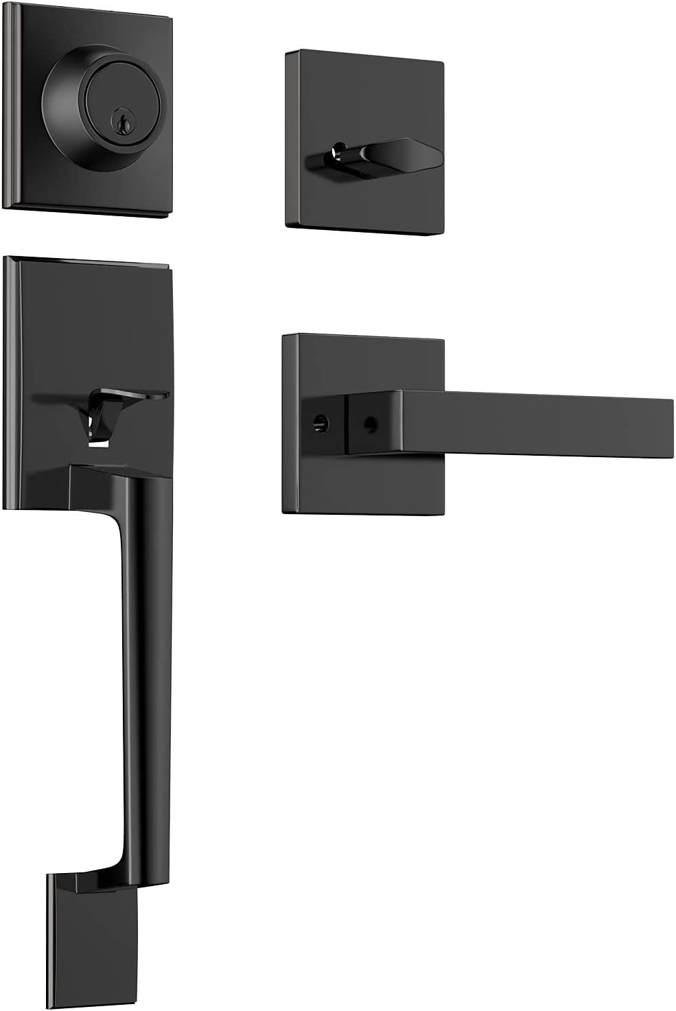 Front Great New York Mall interest Door Handleset with Deadbolt Single wi Cylinder