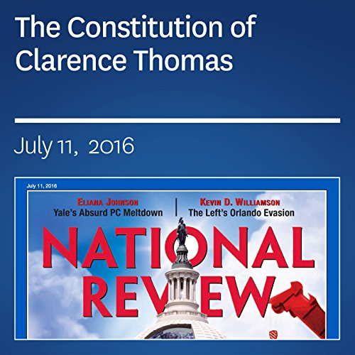 The Constitution of Clarence Thomas audiobook cover art