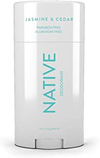 Native Jasmine & Cedar Deodorant, 2.65 Ounce - Paraben Free