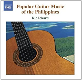 进口CD:菲律宾的西班牙吉他曲 Spanish Guitar Music of the Philippines(CD) 8.557759