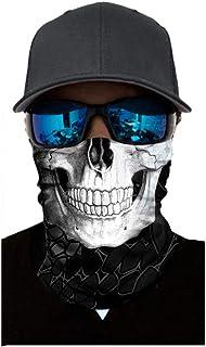Atmungsaktiv Schnelltrocknend TOPEREUR Gesichtsmaske Unisex Bandana Kopftuch Halstuch Winddichte Maske Schlauchschal Joggen Wandern Fahrrad Motorrad Face Shield Halsschlauch