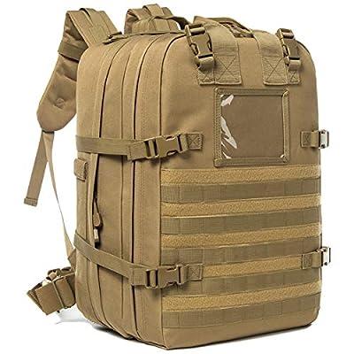 J.CARP Tactical Medical Backpack, Jumpable Field Med Pack, (Coyote)