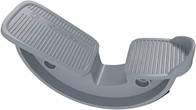 Medi-Gear Foot Rocker - Calf, Ankle & Foot Stretcher - Improve Flexibility, Mobility and Range of Motion for Pain Caused by Plantar Fasciitis, Achilles Tendonitis and Tight Calves (Gray)