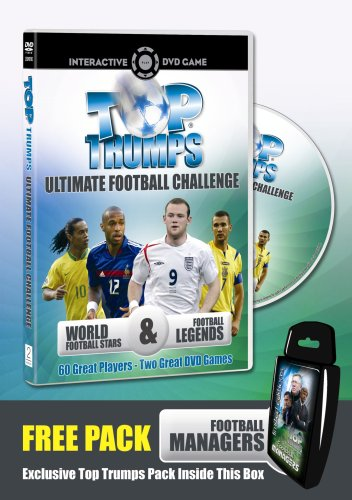 Top Trumps: Ultimate Football Challenge - DVD Interactive Game (Limited Edition With Free 'Football Managers' Top Trumps Card Game) [UK Import]