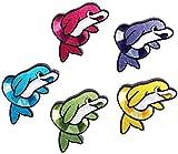 i-Patch–Parches–0148–Delfín–Pescado–Dolphin–Animales–Zoo–Applikation–aufbügler–Parches–Parche–Pegatinas–Badges–Plancha de–Niedlich–Niños–Niños–Joven–Niñas
