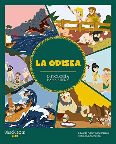 La Odisea: 1 (Mitología para niños)