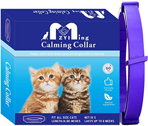 ZYIMING Calming Collar for Cats