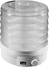 Milkvetch Machine de DéShydrateur Alimentaire avec Contrrle de la TempéRature sans BPA, pour Les Collations de Viandes Aux...