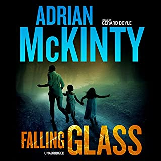 Falling Glass audiobook cover art