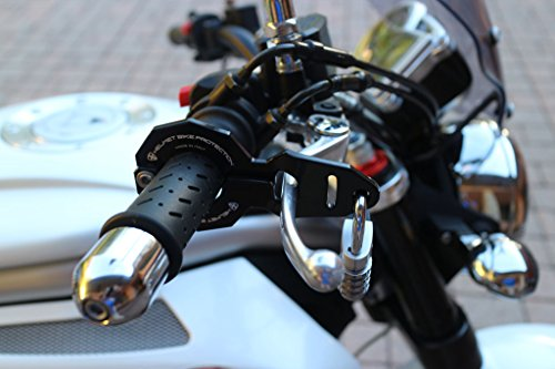 Antirrobo para el casco y moto Large negro con Abus candado
