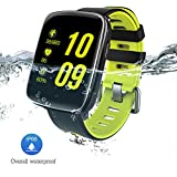 GV68 Smart Watch, Smartwatch Android iOS Compatible Impermeabile IP68 con...