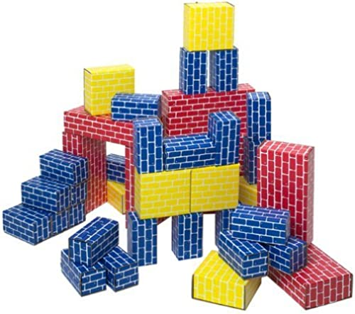 Giant Building Block 40-piece Set by Smart Monkey