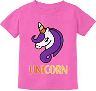 Cute Halloween Candy Corn Unicorn Toddler Kids T-Shirt
