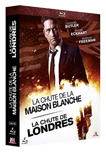 La Chute de la Maison Blanche + La Chute de Londres - Coffret Blu-Ray