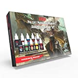 The Army Painter | Dungeons and Dragons Nolzur's Marvelous Pigment Adventurers-Paket | 10 Acrylfarben und 1 Einsteiger-Pinsel | Miniatur zum Bemalen | für Rollenspiele und Tabletop -