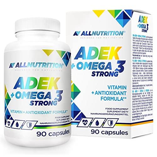 Allnutrition ADEK + Omega 3 Strong - 90 caps