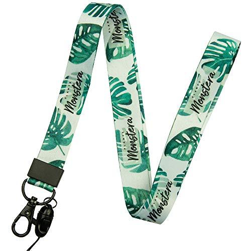 Correa para el cuello de gran calidad con estampado de colores por los dos lados, ideal para móviles, acreditaciones, llaves, USB, MP3