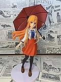 XXSDDM-WJ Regalo Sword Art Online Yuuki Asuna Paraguas PVC Anime Juego de Dibujos Animados Personaje Modelo Estatua Figura Juguete Coleccionables Decoraciones Regalos Favorito Anime Fan SOI757