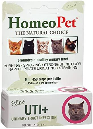 HomeoPet UTI Plus Urinary Tract Infection for Cats